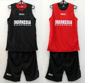 JERSEY INDONESIA Hitam-Merah