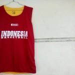 Jersey Basket Indonesia Maroon Kuning