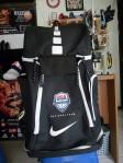 Tas Basket Nike Elite Usa Hitam Putih
