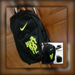 Tas Ransel Nike Just Do It Hitam Hijau