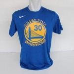 Kaos Basket Golden State Warrior Curry Biru