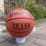 Bola Basket Spalding Coklat