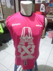 Jersey Basket 3×3 Pink