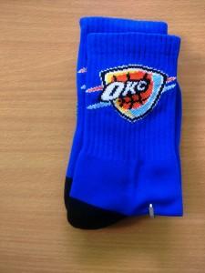 Kaos Kaki NBA OKC Biru