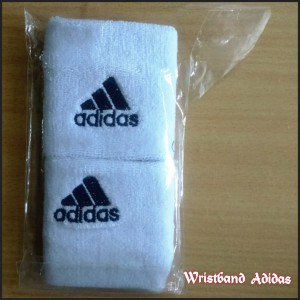 Wristband Adidas Putih