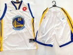 Jersey Golden State Warrior Putih