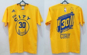 T-Shirt Basket Curry Kuning
