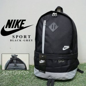 Tas Ransel Nike Sport Black Grey