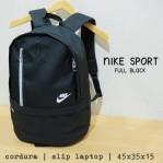Tas Ransel Nike Sport Hitam