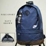 Tas Ransel Nike Sport Navy Brown
