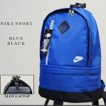 Tas Ransel Nike Sport Biru Hitam