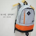 Tas Ransel Nike Sport Grey Orange