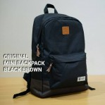 Tas Ransel Original Stuff Black Brown