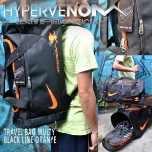 Tas Travel Hypervenom Hitam Orange