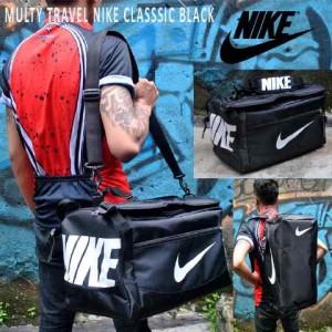 Tas Travel Nike Clasic Hitam Putih