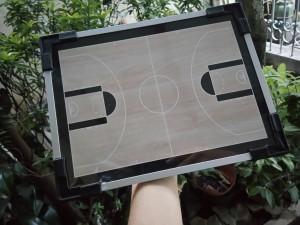 Coach Board Basket Polos Hitam