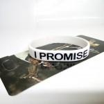 Gelang I Promise Putih Hitam