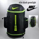Tas Ransel Nike Elite Tabung Hitam Hijau