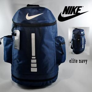 Tas Ransel Nike Elite Tabung Navy
