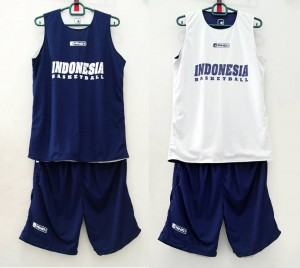 Jersey Indonesia Donker Putih
