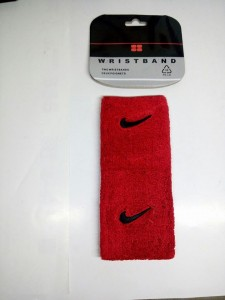 Wristband Nike Merah Hitam