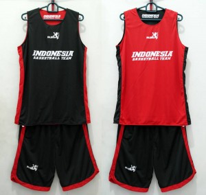 Jersey Indonesia Hitam Merah Versi Baru