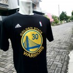 Kaos Basket Golden State Warrior Hitam