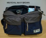 Tas Waistbag Royal Navy Brown