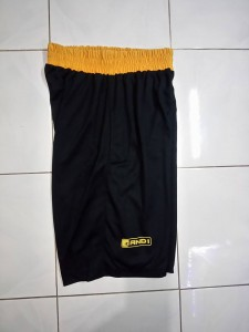 Celana Basket And1 Hitam Kuning