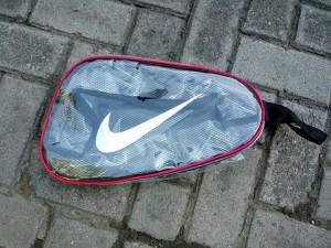 Tas Sepatu Nike Transparan