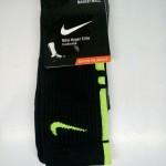 Kaos Kaki Nike Elite Hitam Hijau