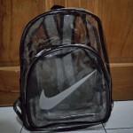 Tas Ransel Nike Transparan