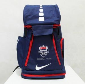 Tas Basket Nike Elite Usa Biru Donker