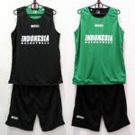Jersey Basket Indonesia Hitam Hijau