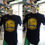 Kaos Basket Golden State Warrior Curry Hitam