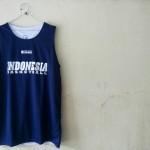 Jersey Basket Indonesia Donker Putih Atasan