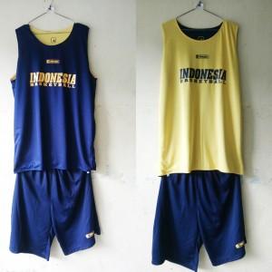 Jersey Basket Indonesia Donker Kuning Muda