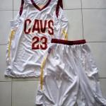 Jersey Basket Lebron James Putih
