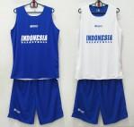 Jersey Basket Indonesia Biru Putih