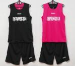 Jersey Basket Indonesia Hitam Pink