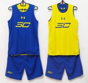 Jersey Basket SC Biru Kuning