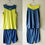 Jersey Basket Under Armour Abu Abu Kuning