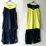 Jersey Basket Under Armour Hitam Kuning