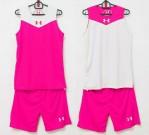 Jersey Basket Under Armour Pink Putih