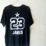 Kaos Basket All Star James