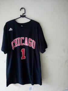 Kaos Basket Chicago Rose