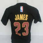 Kaos Basket James Hitam