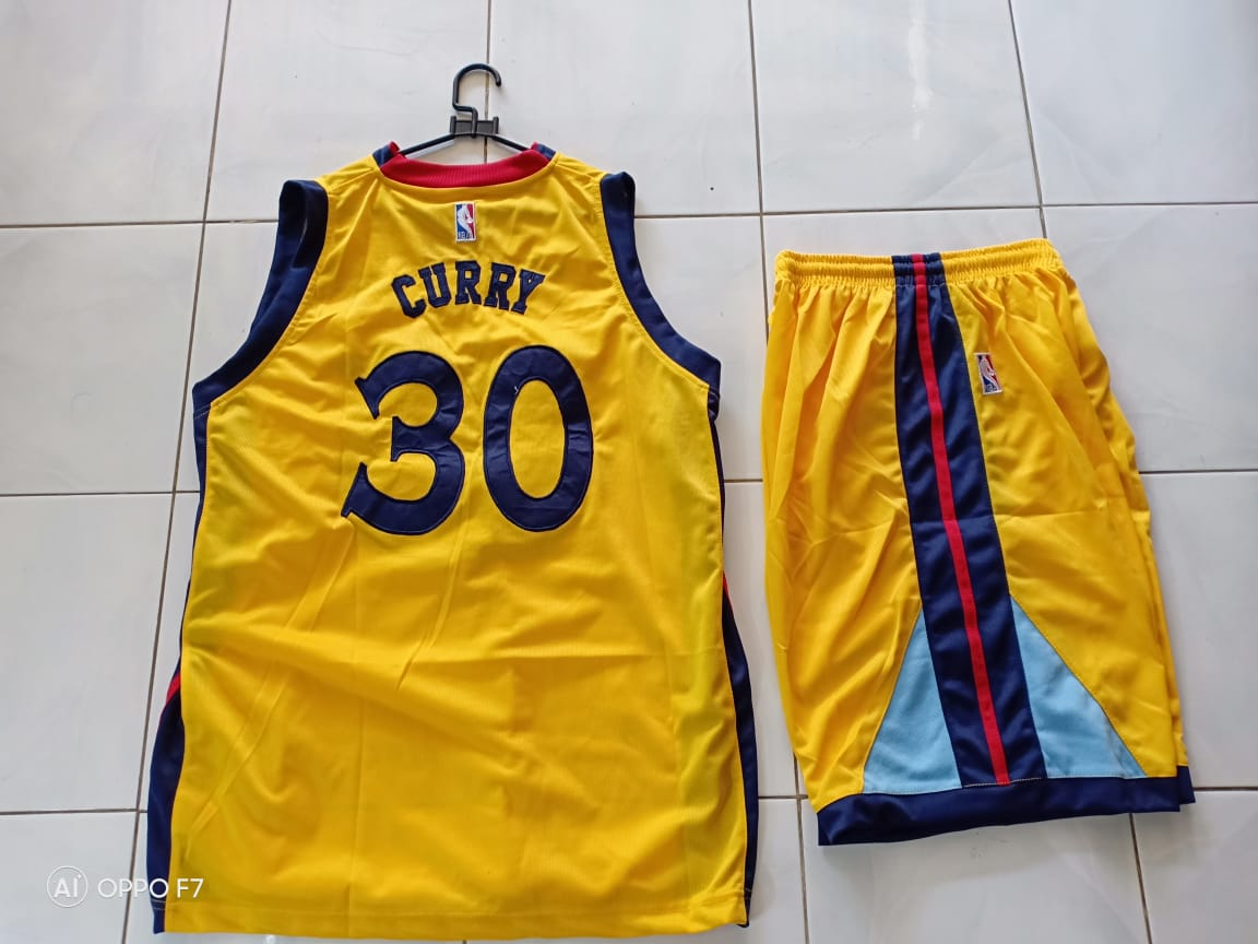 on sale 3ad33 eb995 Jersey Basket Golden State Warrior Kuning