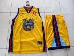 Jersey Basket Golden State Warrior Kuning