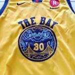 Jersey Basket Golden State Warrior Kuning